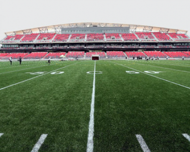 TD Place Turf Installation
